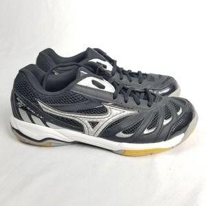 Mizuno Wave Rally 5 Black Silver Volley Ball Shoe